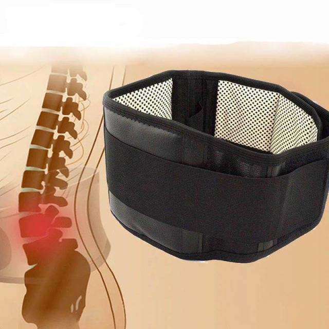 Waist Support Belt Waist Brace Support Belt Self Heating Magnetic Therapy Lumbar Waist Braces Bandage Lower Back