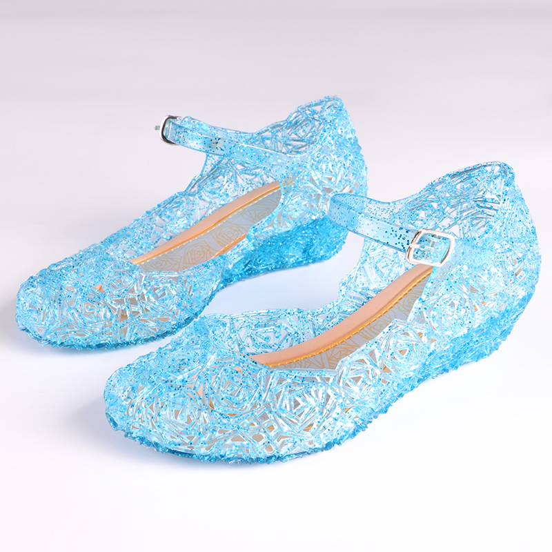2017 new children's sandals crystal girl stage dance performance sandals children princess girl sandals