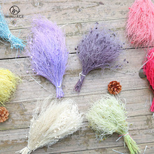 MiHuaGe Natural Dried Flowers Babysbreath Artificial Everlasting Real Flower Wedding Party Festival Gift Home Decor