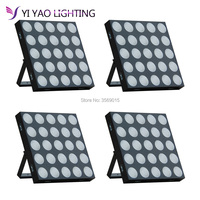 4PCS/LOT factory wholesale price ce rohs approved 25x10w rgbw 3in1 dmx led matrix