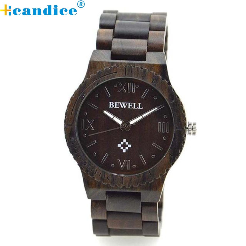 Подробнее о relogio masculino erkek kol saati reloj mujer  Men's Natural Wooden Wristwatch Wood Quartz Watch + Box  Oct27 nre desogn japan style men s watch natural wooden wristwatch wood quartz watch box nice gifts for men relogio masculino 2016 luxury brand