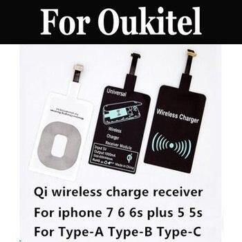 Receptor de Cargador Inalámbrico Universal ultradelgado 100% nuevo para Oukitel K5000 Mix 2 K8000 C9 C11 Pro U18 K6 K10 K6000 Premium