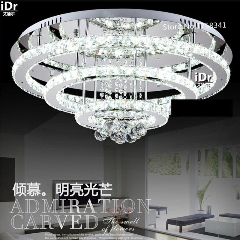 Modern fashion three rings Bedroom lamp Hall