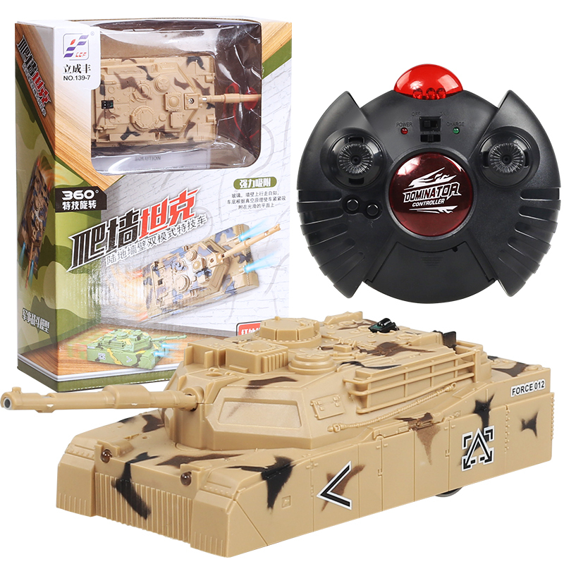 Stunt RC Wall Climbing Tank Remote Control Anti Gravity Ceiling Racing Car Electric Toys Machine Auto Gift For Children RC Car