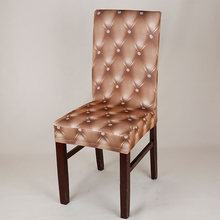 Elastic Chair Cover Seat Case Furniture For Hotel Dining Room Home Decoration(China)