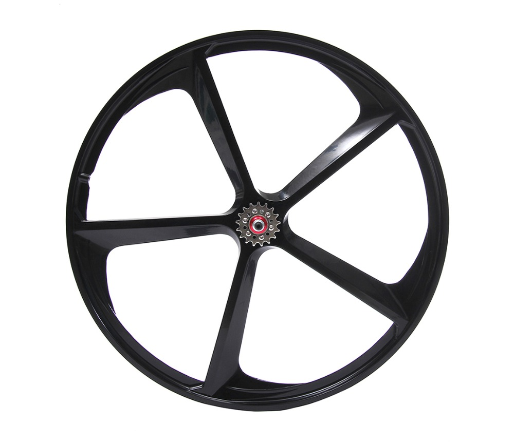Fixed gear bike wheel Magnesium Alloy wheel 700C bike fixie Bicycle Mag TRI front rear wheel Mag Alloy Rims