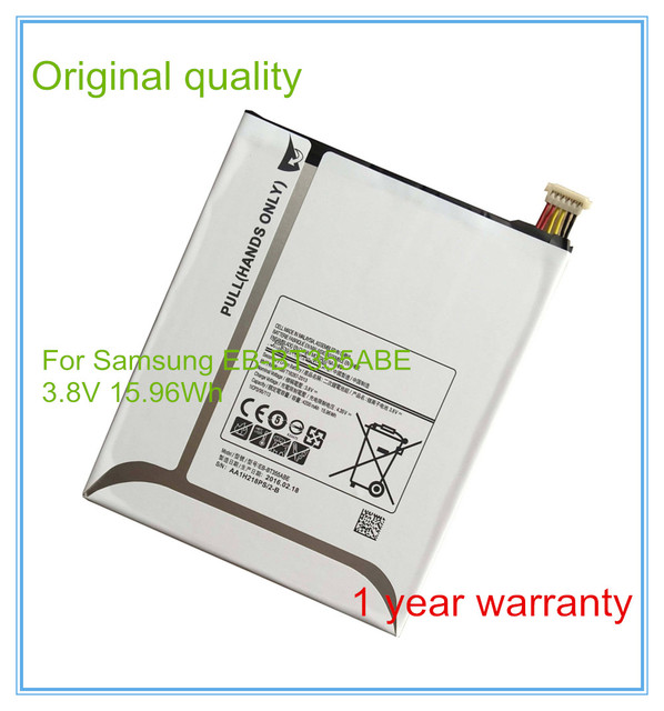 Original New 3.8V 4200mAh EB-BT355ABE  Replacement Battery For  T355C SM-T350 SM-P350 P355C
