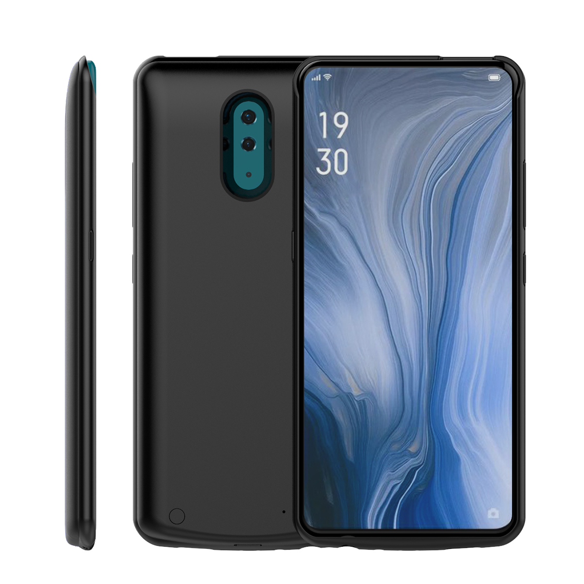 For Oneplus 7 Battery Charger Case Slim 6500mAh Extended Backup Power Bank Charging Cover for One Plus 7 OnePlus 7 Battery Case in Battery Charger Cases from Cellphones Telecommunications