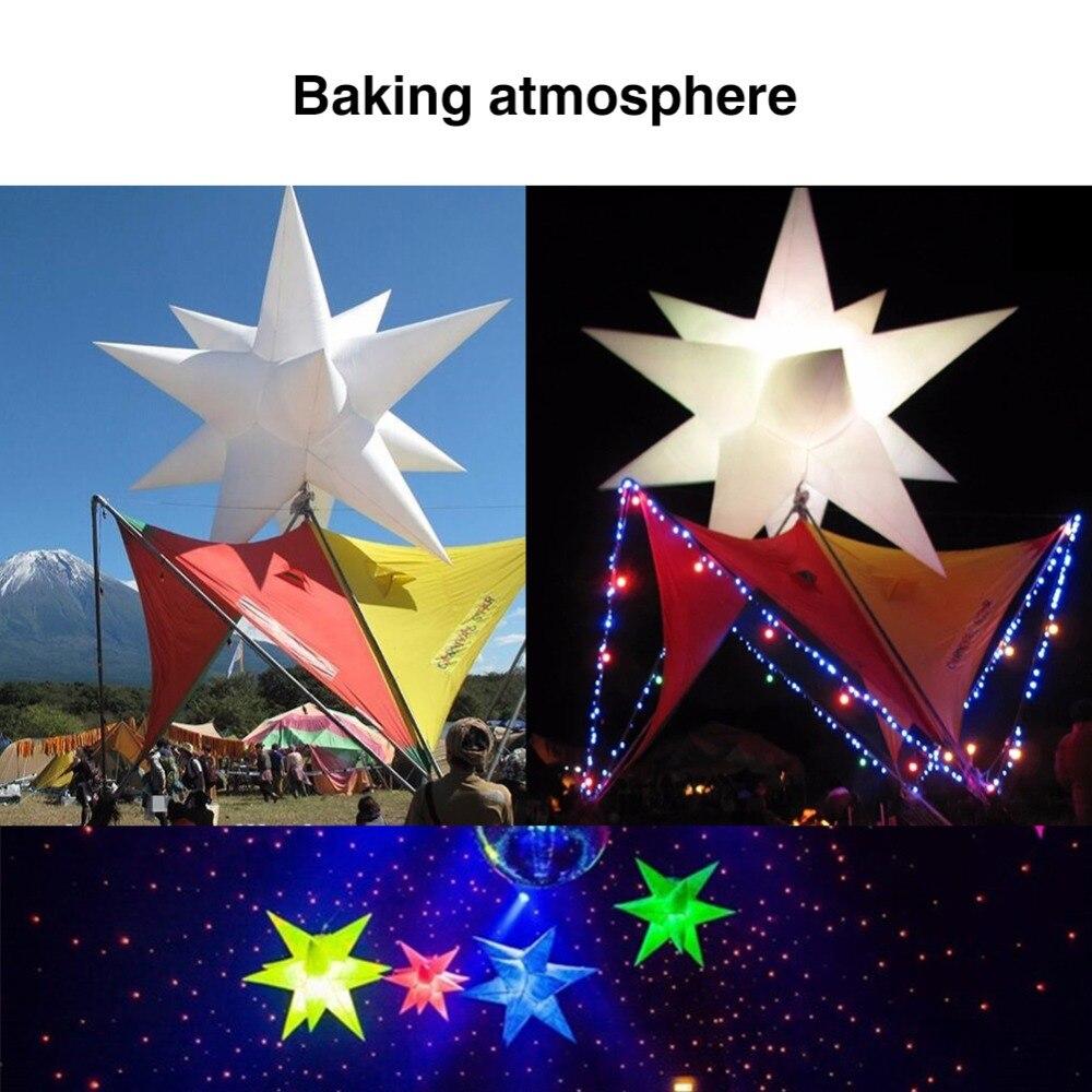 2 m Opblaasbare Star LED Light 16 Kleuren Veranderen met LED Licht en Innerlijke Blower voor Sky Verlichting Night Club reclame Decor-in Opblaasbare Bouncers van Speelgoed & Hobbies op  Groep 2