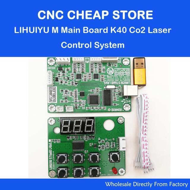 US $15 83 28% OFF|DIY CO2 Laser Engraving Cutting Machine K40 LIHUIYU M2  Motherboard Nano Laser Engraver 4060 6090 Controller Main Motherboard-in