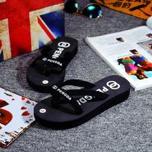Plate-forme Sandales Chaussures Femmes Casual Chaussures D'été Style Femme Pantoufles Avec Plate-Forme Tongs Sapato Feminino X158