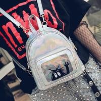 RU BR Korean Female Laser Fashion Shoulder Bag Small Mini Tide Package New Small Fresh Personality