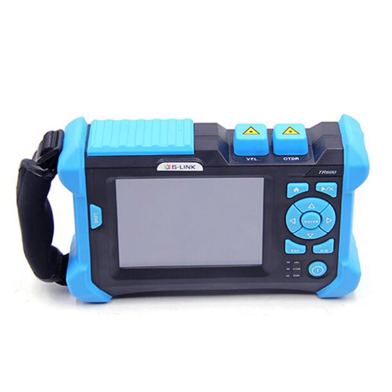 G LINK OTDR TR600 SM OTDR 1310/1550nm 32/30dB Integrated VFL Touch Screen