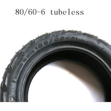 цены 80/60-6  Tubeless tire For E-Scooter Motor Electric Scooter Go karts ATV Quad Speedway  scooter tire