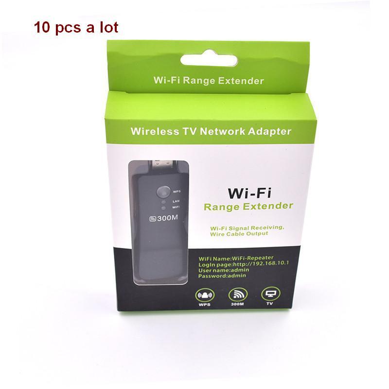 10 kosov veliko USB Universal Brezžični Smart TV Wifi Adapter - Mrežna strojna oprema