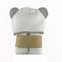 Toalha de bebê com capuz e toalha de banho conjunto de toalhas de bebê de bambu orgânico com capuz extra grosso macio tamanho da criança 28x40 Polegada