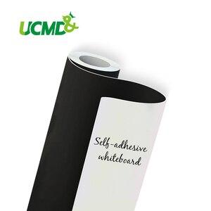 Настенная Наклейка для белой доски, гибкая стираемая магнитная доска для рисования, наклейка на холодильник с клейкими магнитами
