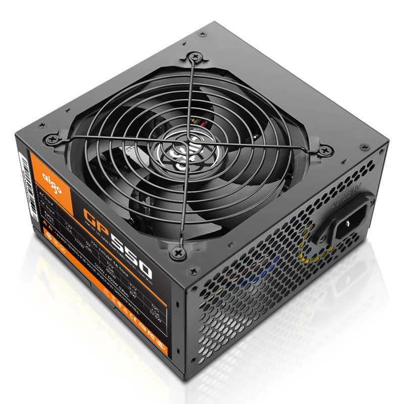 Aigo GP550 نشط امدادات الطاقة تصنيف power550W 80PLUS البرونزية امدادات الطاقة 12 فولت atx الكمبيوتر سطح المكتب وحدة إمداد الطاقة للكمبيوتر