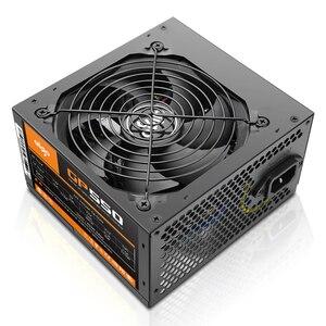 Image 3 - Блок питания Aigo gp550 max для настольного ПК, 750 Вт, PSU, PFC, тихий вентилятор, ATX, 24 контакта, 12 В, 80PLUS, бронзовый блок питания для игрового ПК SATA