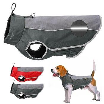 Winter Hund Pet Kleidung Wasserdicht Hund Jacke Mantel Große Hunde Haustiere Kleidung Kostüm Für Medium Large Hunde Bulldog Ropa Perro m-3XL
