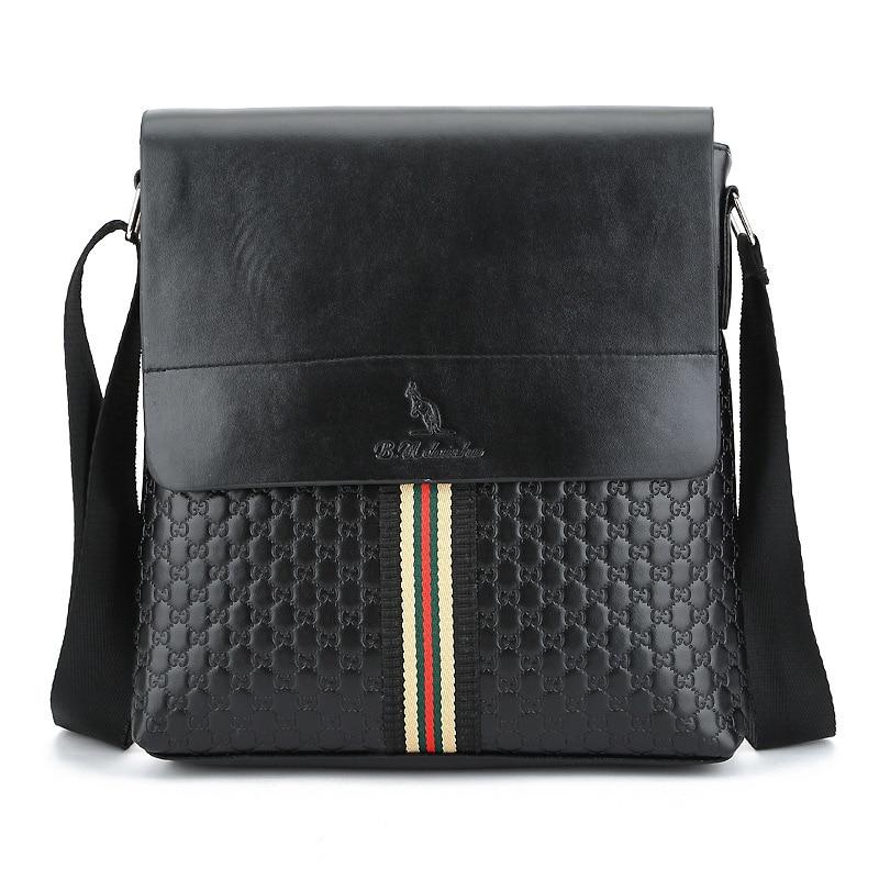 2018 New Fashion Mens Leather Messenger Bag Promotion Small Messenger Casual Shoulder Bag Mens Bag Tote Bag