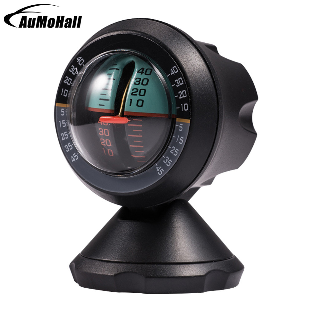 Car Compass Multifunction Vehicle Inclinometer Slope Measure Inclination Tool Automobile