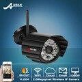 Envío Gratis Onvif H.264 1080 P 2MP HD Impermeable Al Aire Libre 48 IR Wireless WIFI Cámara de Red IP CCTV Cámara de Seguridad