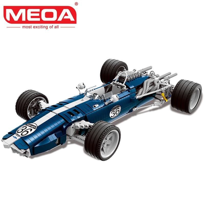 XINGBAO 03022 Genuine Building Blocks 1758PCS The Blue Racing Car Set MOC Brick Kid's Educational Toys Brinquedos De Montar montar заколка монтар бордовая