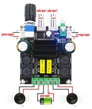 TPA3116 50W + 50W Ad Alta Potenza Audio Digitale di Musica di Bordo Amplificatore amplificatore Amplificatori Altoparlanti di Bordo