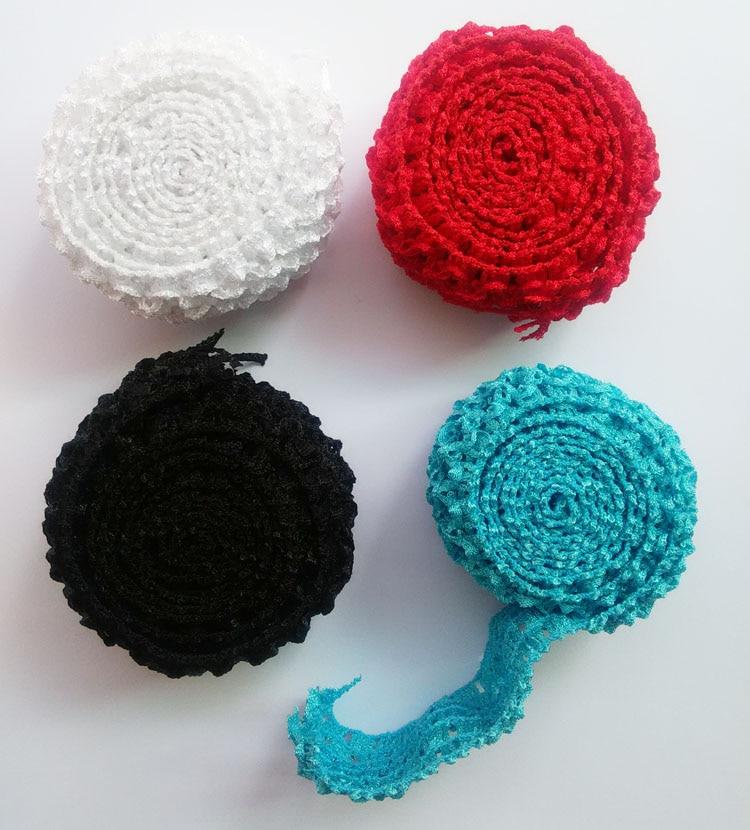 Crochet Elastic Hair Band : Online Buy Wholesale crochet elastic from China crochet elastic ...