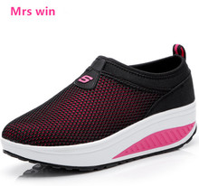 2017 spring autumn Women running shoes Ladies sport Shoes Outdoor sneakers slip on platform shoes female chaussure zapatos