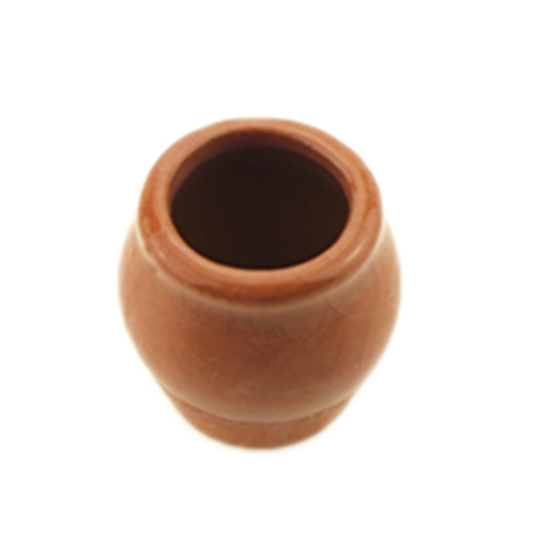 1/12 Dollhouse Miniature Mini Ceramics Flowerpot Simulation Furniture Flower Pot For Doll House Accessories