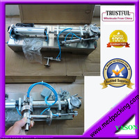 200 1500ml Single Head Liquid Softdrink Pneumatic Filling Machine