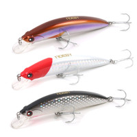 NOEBY 90mm/28g Minnow Bait Artificial France VMC Hooks Sinking0.6 2.5m Hard Lures For Fishing Leurre Peche lure for fishing hard lure minnow bait -