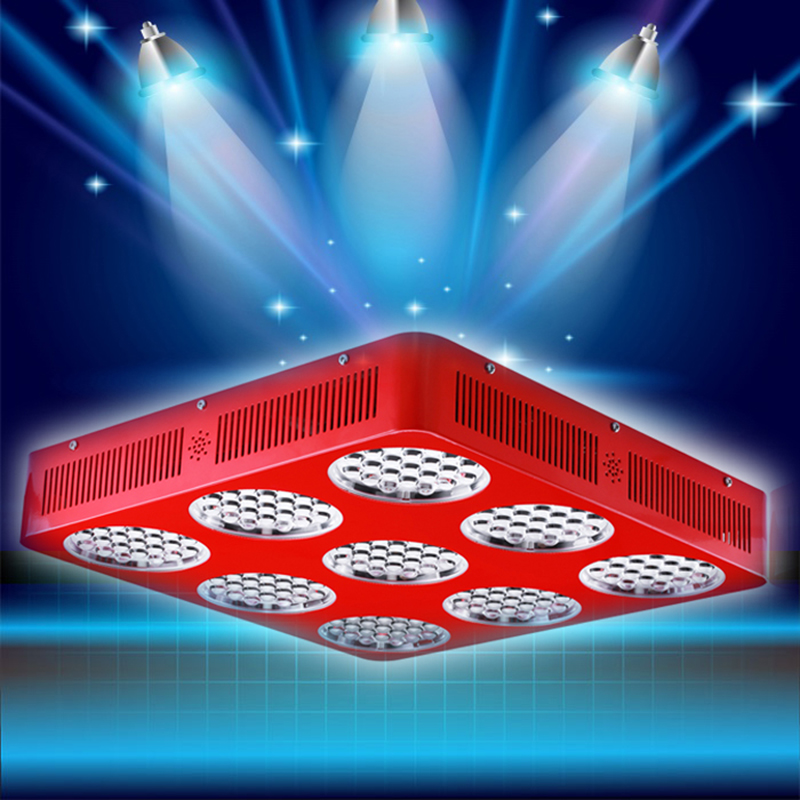 2016 New Arrival High Power 1890W Double Chips LED Grow Light Full Spectrum 380-730nm UV-IR  LED Hydroponic Grow Led lamp Lights