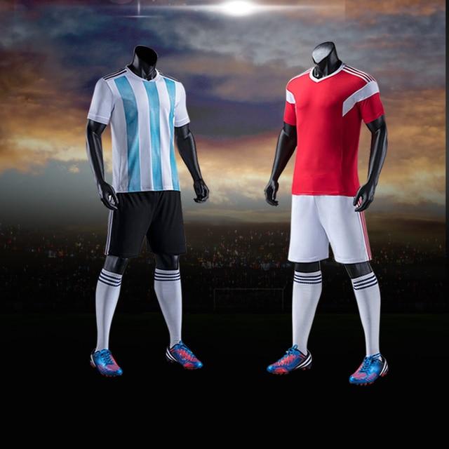 d7066e6292697 Adultos y niños ropa deportiva DE FÚTBOL Camisetas de equipo de fútbol  formación juventud Kits de
