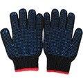 Страховые труда Защитные перчатки ПВХ Точки пластиковые скольжения перчатки guantes guantes nitrilo устойчива к порезам trabajo hombre