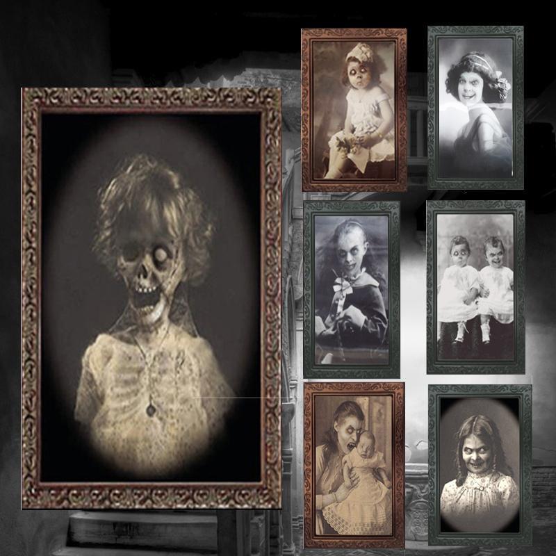 Halloween Ghost Face Photo | yoyowiz