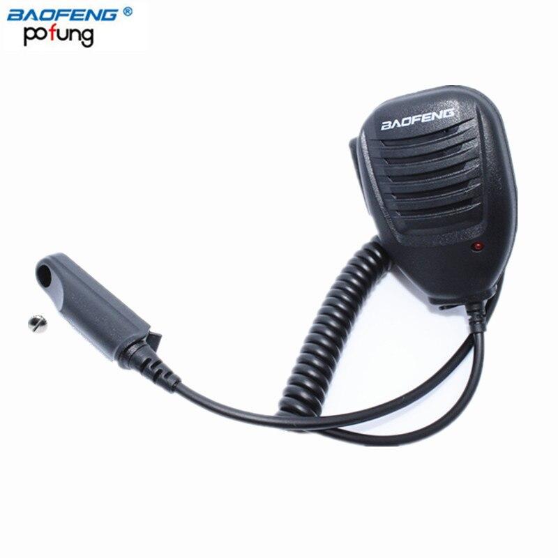 Baofeng Étanche À la Pluie Épaule À Distance Haut-Parleur Microphone pour Baofeng GT-3WP UV-5S UV-9R A-58 BF-9700 Talkie Walkie