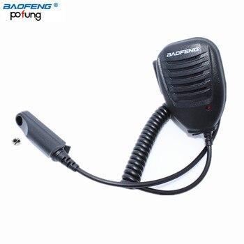 Baofeng UV-9R plus wodoodporny, odporny na deszcz, zdalny mikrofon z głośnikiem do Baofeng GT-3WP UV-5S A-58 BF-9700 Walkie Talkie