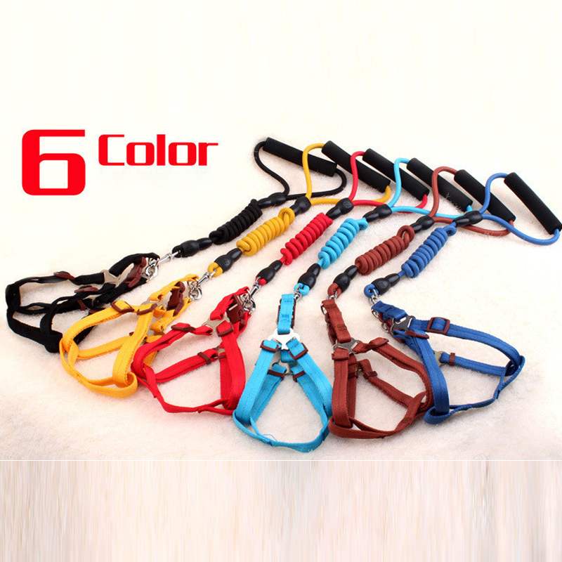 2017 New Year Hand-Made Pet Lead For Dogs120CM Braided Tangle Free Dog Leash For Training Dogs Travel for a walk PS011
