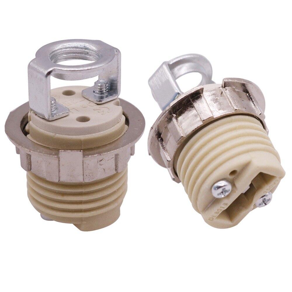4 Pcs G9 LED Special Ceramic Lamp Holder Lamp Holder Homekit Bulb Holder 35mm Height Thread Diameter 21mm