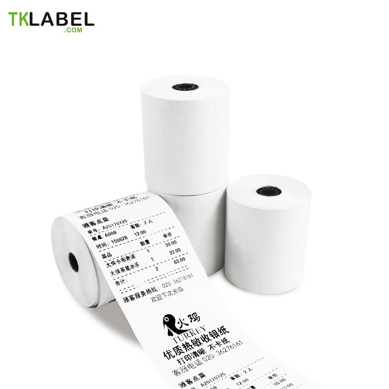 10 Rollos X Rollo De Papel Térmico 80mm 70m Rollo De Papel Núcleo 13mm Cash Register Paper Till Rollthermal Paper Aliexpress