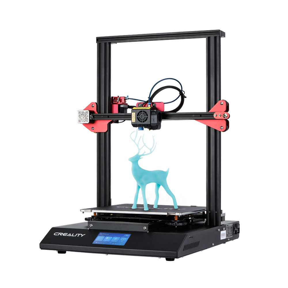CR 10S Pro 4 3inch Touch LCD Auto Leveling Sensor Printer Resume Printing Filament Detection Funtion