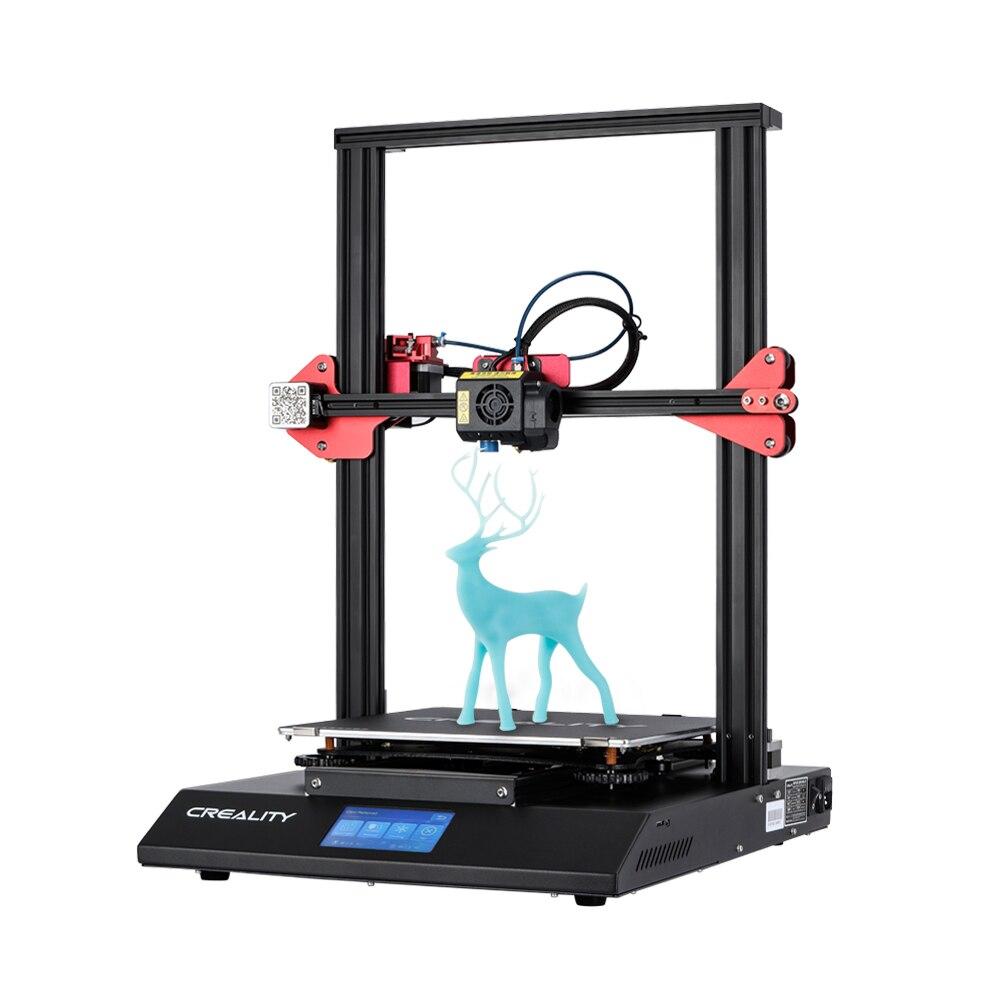 CR-10S Pro 4.3 pouces tactile LCD capteur de nivellement automatique imprimante reprendre l'impression fonction de détection de Filament MeanWell puissance créalité 3D