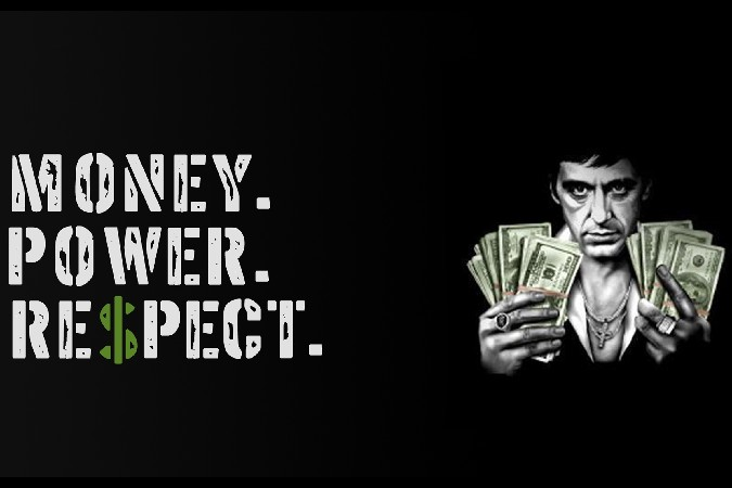 Suits Hd Wallpaper Quotes Diy Frame Scarface Money Power Respect Classic Crime