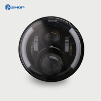 7inch 40w Auto Light For Jeep Wrangler JK LED Headlight With HI Low Beam With H4