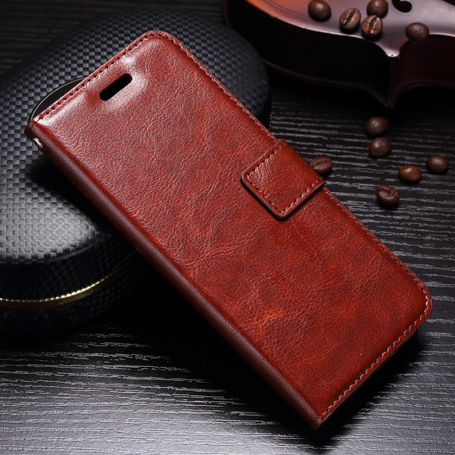 best website cea0e f280f US $4.44 11% OFF|Luxury Retro Leather Wallet Case For Samsung Galaxy S9 S 9  flip Cover Case For Samsung Galaxy S9 case capa for Samsung Galaxy S9-in ...