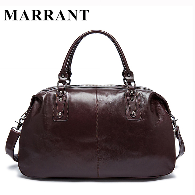 ca94c28d84 Genuine Leather men bag Men s Travel Duffle Bag luggage Men Messenger  Shoulder Bags Travel Bags Leather Suitcase Handbag