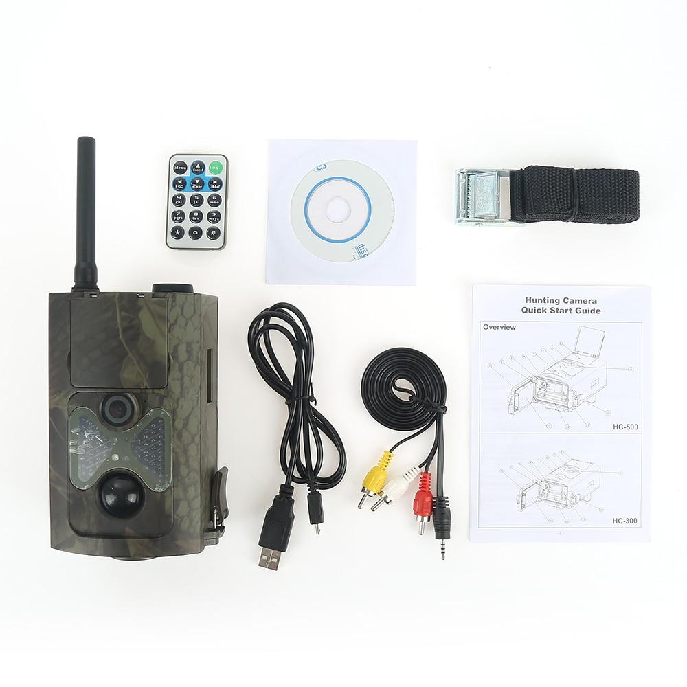 Skatolly HD Hunting Camera HC550M Trail Animal Cameras 16MP GPRS SMS IR LED Night Version HC-550M Hunting Cam Free shipping New